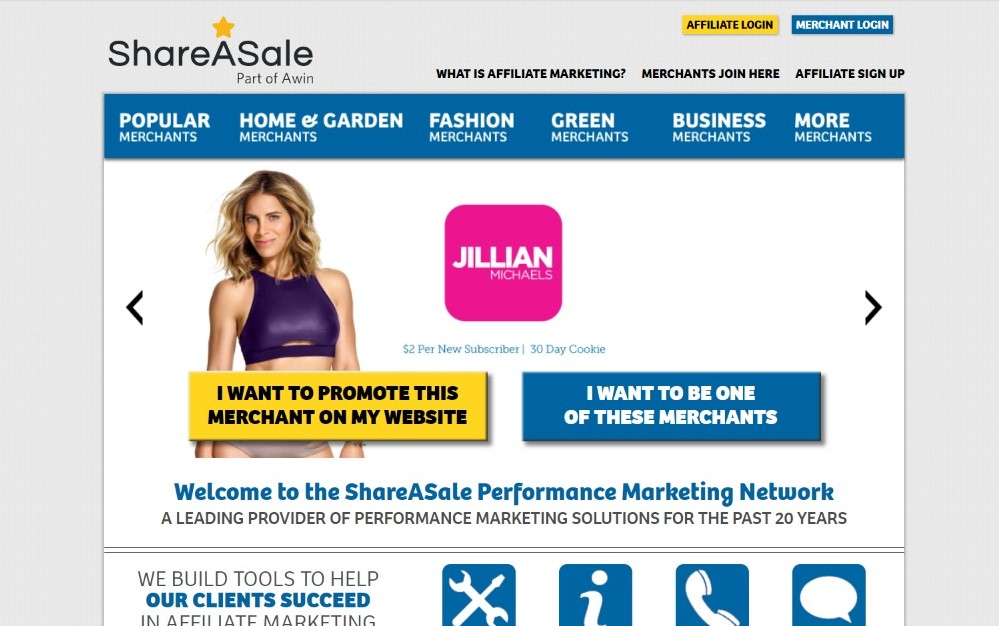 Share a sale website